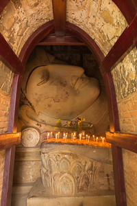 Reclining Buddha, Bagan