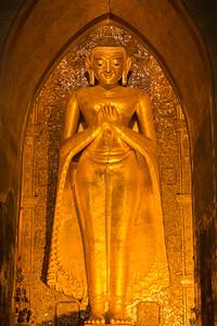 Buddha in Ananda Temple
