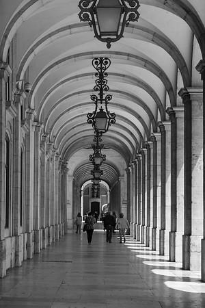 Majestic Hallway, Lisbon