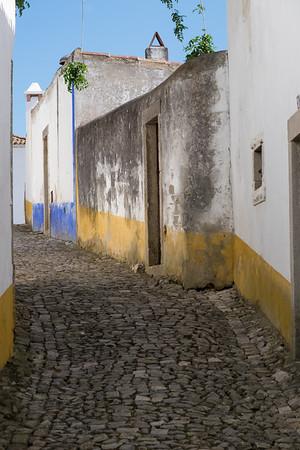Cobblestoned Alley