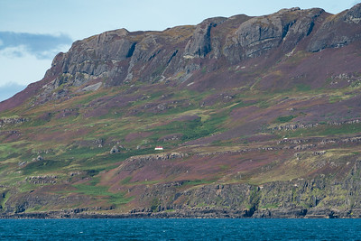 Rugged Isle of Eigg, Scotland