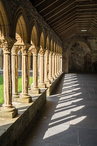 Repeating Arches, Iona Abbey, Scotland.
