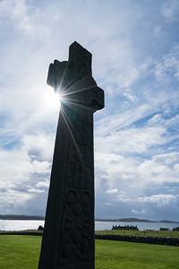 Celtic Cross Silhouette