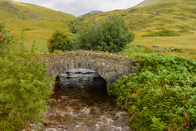 Stone Bridge over Coladoir River, Scotland.
