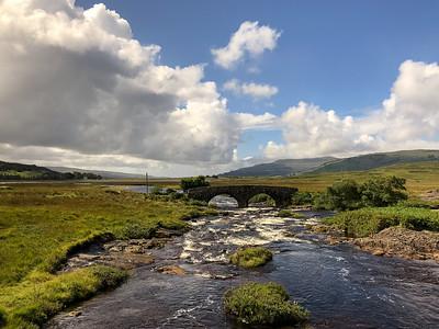 Isle of Mull and Old Bridge, Scotland