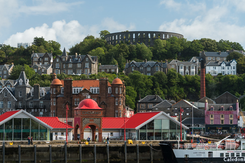 Oban's Waterfront, Scotland.
