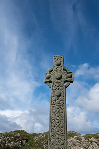Celtic Cross, Iona Abbey, Scotland