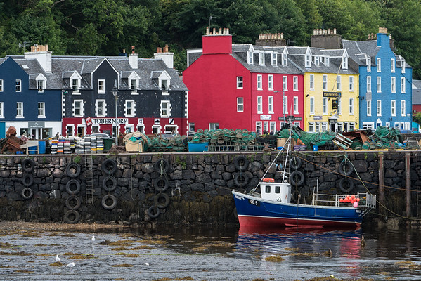 Tobermory Town and Harbor