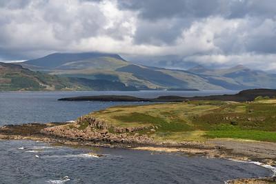 Loch Scridain and Landscape, Scotland