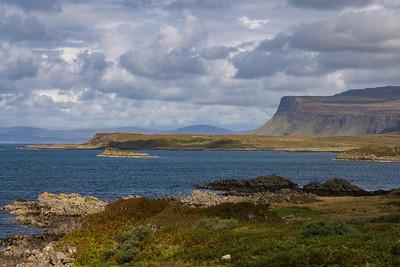 View across Loch Scridain, Scotland