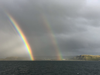Double Rainbow, Sound of Mull