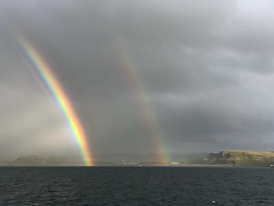 Double Rainbow, Sound of Mull