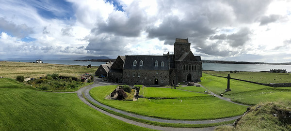 Panorama, Iona Abbey, Scotland