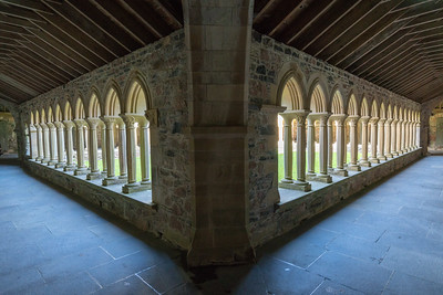Symmetrical Structure, Iona Abbey, Scotland.