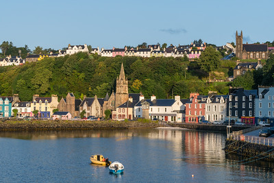 Tobermory in Morning Light, Scotland