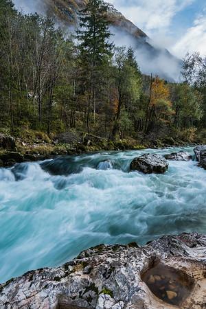 Soça River, Slovenia