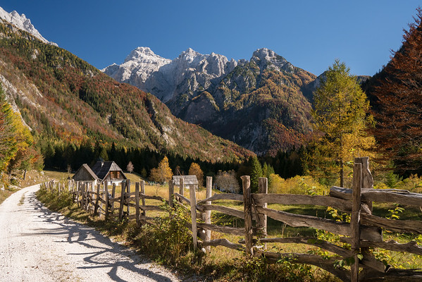 Country Scene in Autumn, Slovenia