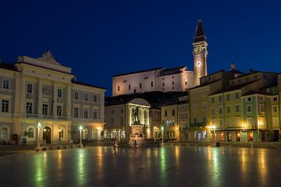 Twilight in Tartini Square