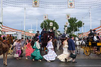 Festival of Spring Fair, Seville.