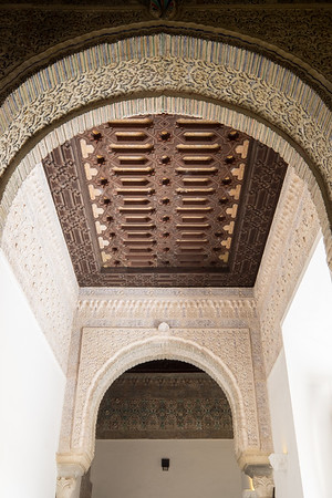 Moorish style architecture at the Alcazar.