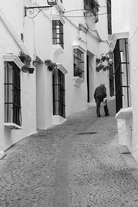 Walking home, Arcos de la Frontera, Spain.