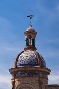 Dome of El Carmen church, Seville.