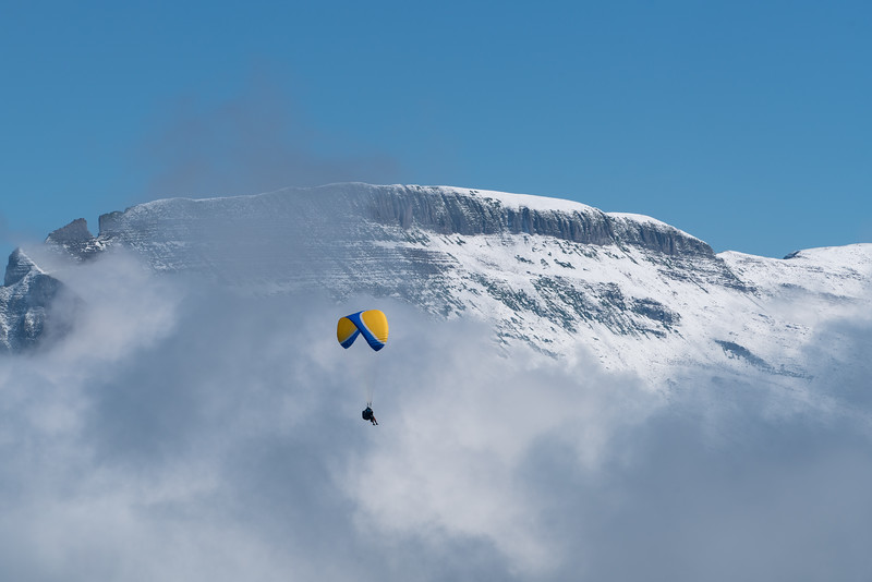 Parasailing in the Clouds