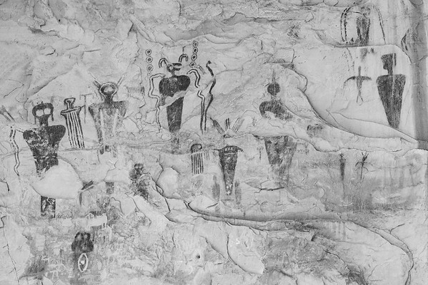 Ancient Figures, Utah.