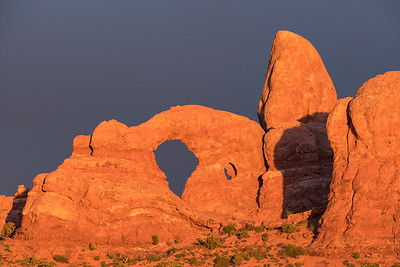 Storm Light on Turret Arch