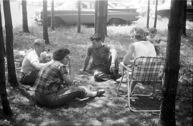 "Dale & Joyce Shadle; Charles ""Dun"" Miller; Marion Miller; Sue Ann Miller"