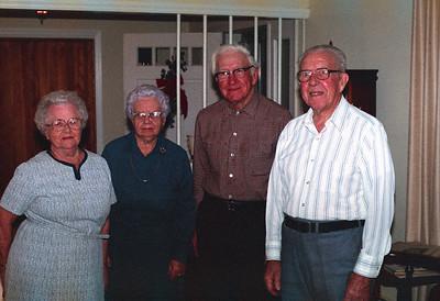 """Kathleen """"Granny"""" Arnold Graham, Frances & Sam Graham, Charles """"Pops"""" Graham"""