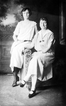 Edith Yakey; Hazel Frame Yakey