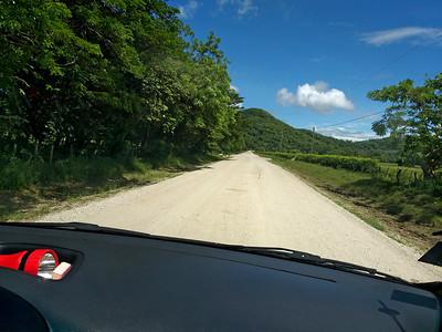 Driving to Rancho Humo Estancia  ---  Gravel Roads after the Bridge
