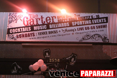 VENICE ROCKS EVERY SUNDAY AT THE GARTER. 2536 Lincoln Blvd. Venice, Ca 90291 www.thegartervenice.com.  www.myspace.com/venicerocks