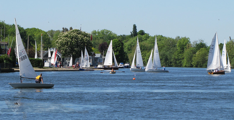 Yachts on the Thames