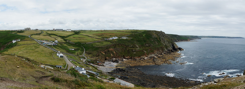 Panorama from Cape Cornwall