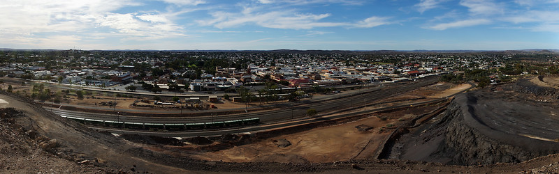 Panorama of Broken Hill - New South Wales - Australia