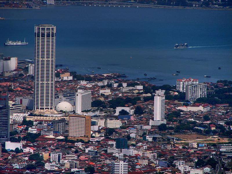Penang Hill - Panorama - Malaysia