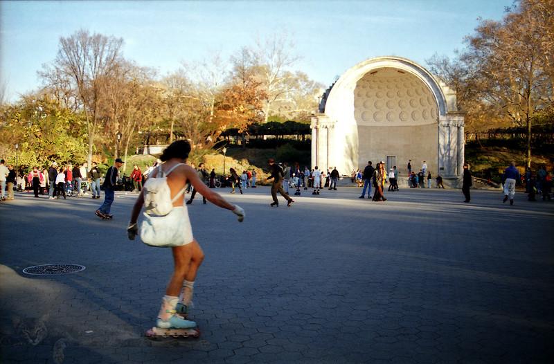New York City - Central Park - In Line Skater