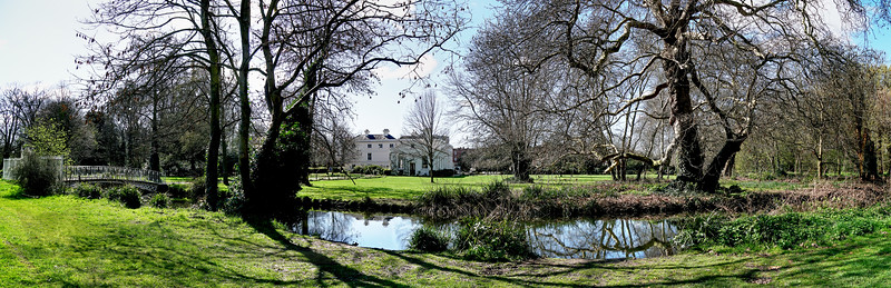 Panorama in Morden Hall Park