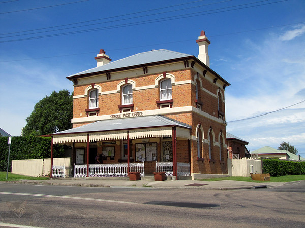 Post Office in Stroud, NSW