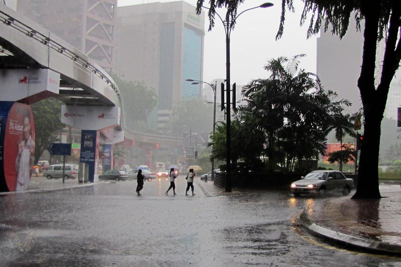 Rainy Day in Kuala Lumpur