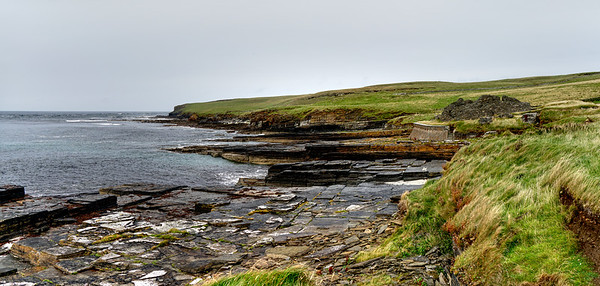 Midhowe Broch - Rousay
