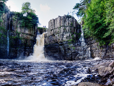 High Force Waterfall - Forest-in-Teesdale - County Durham