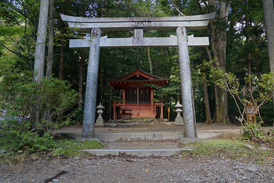 Kumano Kodo - Torii (Gate) and Shrine