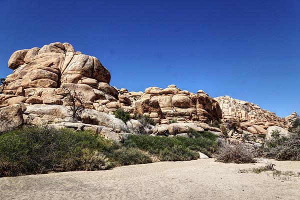 Rock in Joshua Tree National park - California