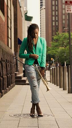 Arnetta Johnson Jazz Trumpeter