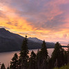 Angora Ridge August Sunset