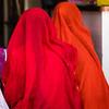 Veiled women, Jaisalmer