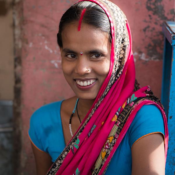 A young woman, Mandawa, Rajasthan